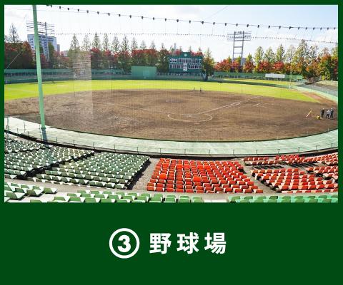 3 野球場
